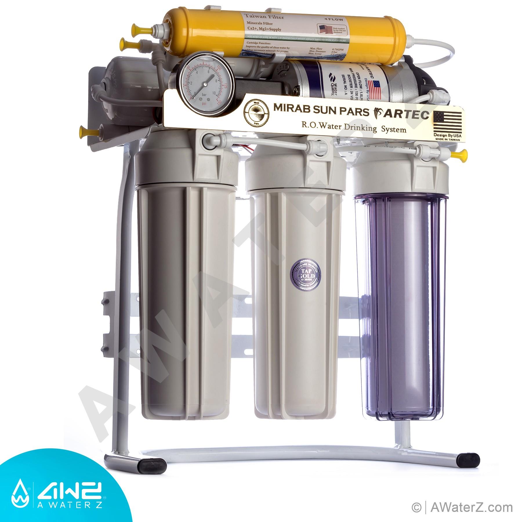 دستگاه تصفیه آب به روش  اسمز معکوس چیست ؟