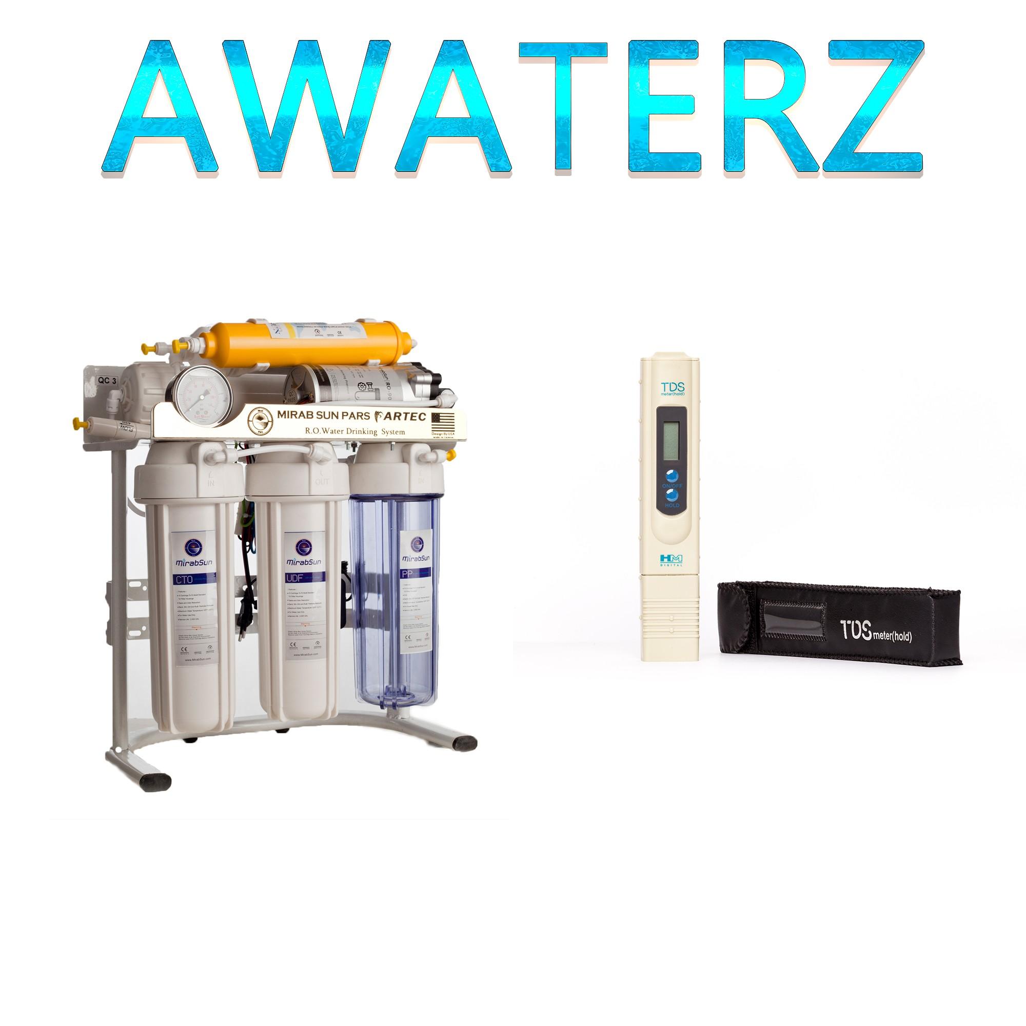 آموزش ثابت کردن میزان سختی آب دستگاه تصفیه