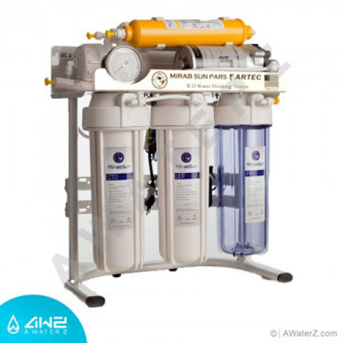 دستگاه تصفیه آب خانگی شش مرحله ای مدل گلد میراب سان پارس